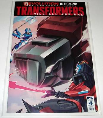TRANSFORMERS : TILL ALL ARE ONE # 4 IDW Comic Sep 2016  NM  SUBSCRIPTION VARIANT