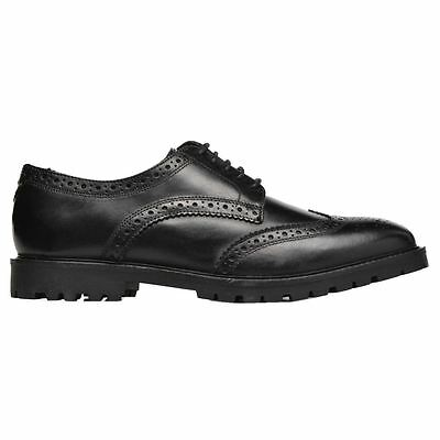 Base London Trench Washed Black Mens Shoes