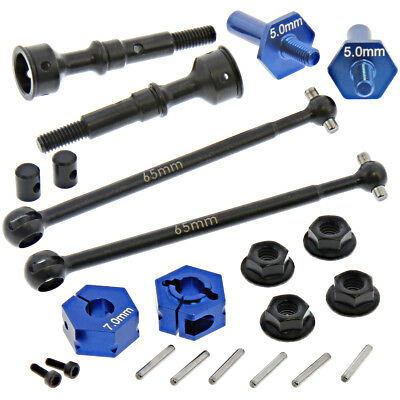 AE Team Associated RC10B6 * REAR CVA DOGBONES, FRONT AXLES & HEXES *Drive shafts