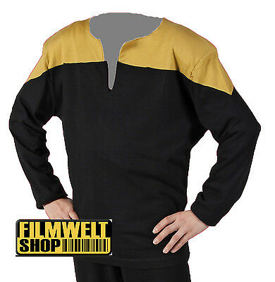 STAR TREK Voyager Uniform - deluxe - gold - NEU - M