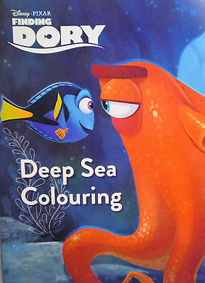 Disney Pixar's Finding Dory Deep Sea Colouring and Story Book