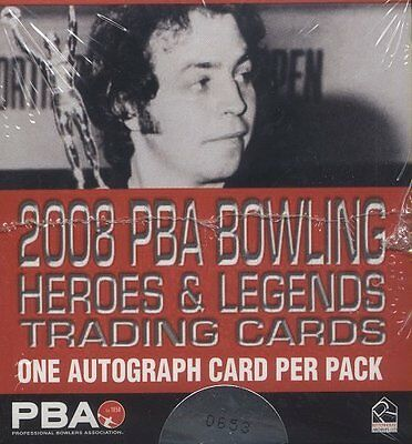 2008 Rittenhouse PBA Bowling Heroes & Legends Box