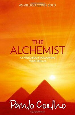 The Alchemist: A Fable About Following Your Dream New Paperback Book Paulo Coelh