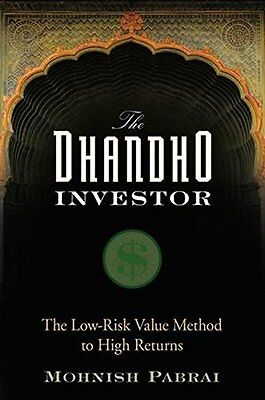 The Dhandho Investor: The Low-Risk Value Method to High Returns New Hardcover Bo