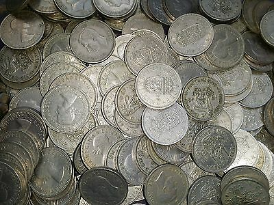 25 shillings bulk lot good coins i have many lots for sale