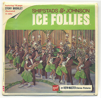 Shipstads and Johnson Ice Follies 1970 GAF View-Master Packet B-776
