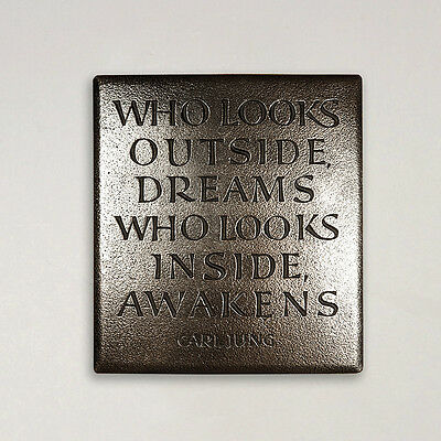 Irish Your Vision Will Become Clear Plaque By Wild Goose Studio Ireland Carljung