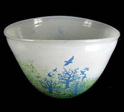 Kosta Boda Glas Schale October-Serie Kjell Engman Design Sweden Glass Bowl