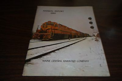 1966 Maine Central Railroad Company Mec Annual Report