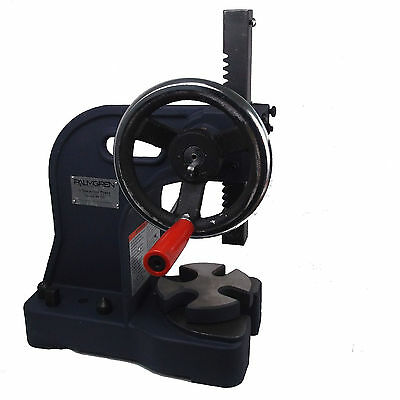 Arbor Press Hand Press 1 Ton for Snaps, Rivets and 3-D Stamps