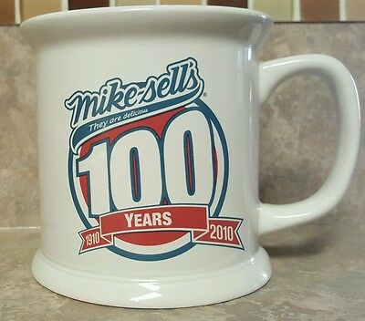 RARE Mikesell's 100 Year Anniversary CERAMIC COFFEE CUP MUG - VGC