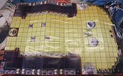 Heroclix Maps (10)  Negative,Space Race,Gotham City water,Central City,House