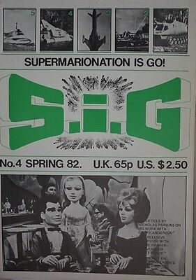 S.I.G Supermarionation is Go Magazine Thunderbirds - no 4 - Spring 1982