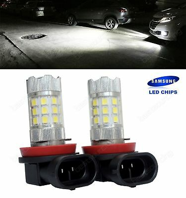 2X SAMSUNG LED 30W Higt Power H8 H11 Projector Fog Light Bulbs Driving DRL Lamps