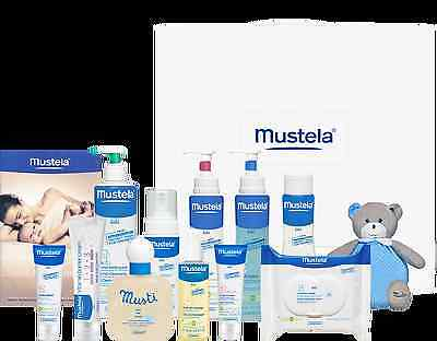Mustela Baby Shower Luxury Gift Set, the crème de la crème of baby hampers WOW!!