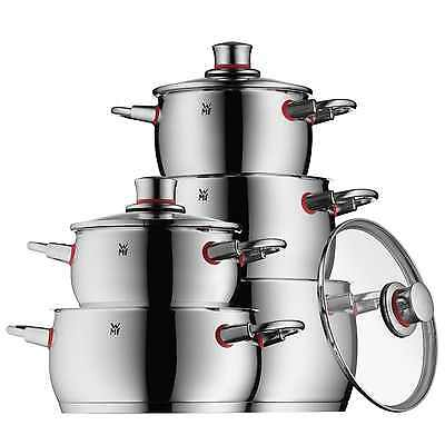 WMF Topfserie QUALITY ONE Topfset 5 teilig COOL+Griffe