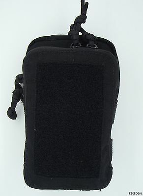 """MSM Tactical Tailor Stealth Compact Pouch BLACK + TWO 5"""" Malice Clips"""