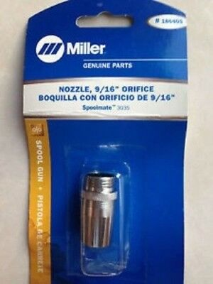 Miller Genuine Nozzle for Spoolmate 100 qty1 186-405 186405
