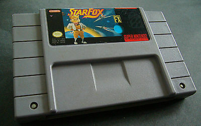 nintendo snes star fox game only cartrige in good condition must see