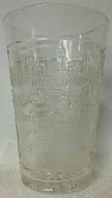 "1904 Louisiana Purchase Exposition St Louis Worlds Fair Antique Glass 5"" Tumbler"