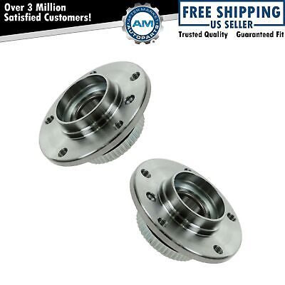 Front Wheel Hub & Bearing Left & Right Pair for BMW E31 E32 E34 E36 E46 Z4