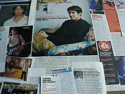 Stephen Malkmus (Pavement) - Magazine Cuttings Collection (Ref Z18)