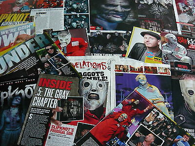 Slipknot - Magazine Cuttings Collection (Ref X)