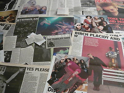 Stereo Mc's - Magazine Cuttings Collection (Ref T2)