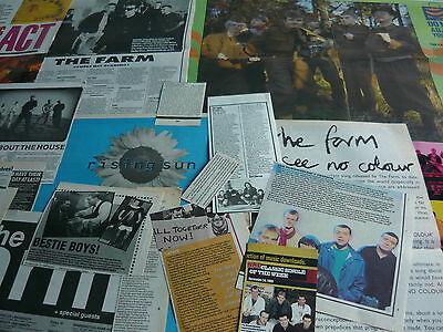 The Farm - Magazine Cuttings Collection (Ref S4)