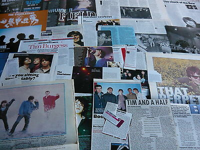 The Charlatans - Magazine Cuttings Collection (Ref Z18)