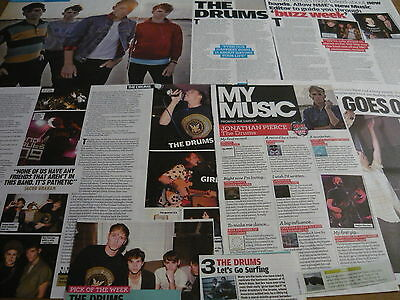 The Drums - Magazine Cuttings Collection (Ref T5)