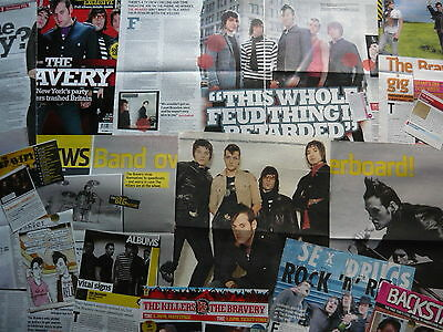 The Bravery - Magazine Cuttings Collection (Ref T4)