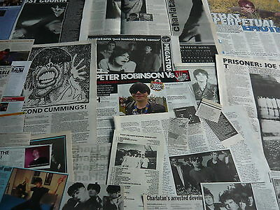 The Charlatans - Magazine Cuttings Collection (Ref T4)