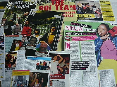 The Go! Team - Magazine Cuttings Collection (Ref Z6)