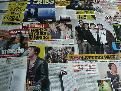 The Cribs - Magazine Cuttings Collection (Ref Xd)