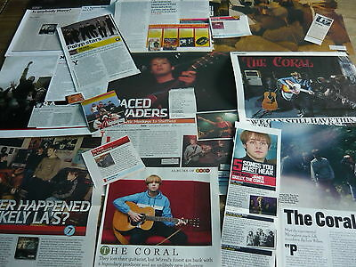 The Coral - Magazine Cuttings Collection (Ref S3)