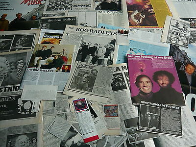 The Boo Radleys - Magazine Cuttings Collection (Ref Xd)