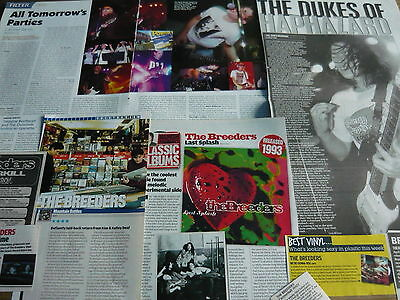 The Breeders/related - Magazine Cuttings Collection (Ref T6)