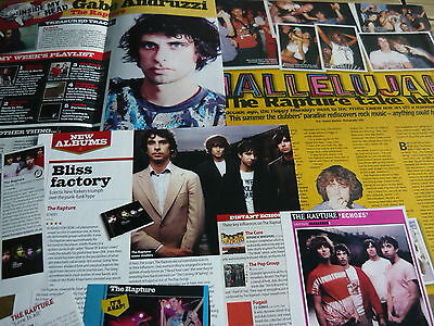 The Rapture - Magazine Cuttings Collection (Ref X)