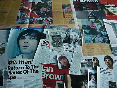 The Stone Roses/ian Brown - Magazine Cuttings Collection (Ref 2)