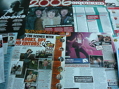 The Kooks - Magazine Cuttings Collection (Ref Z13)