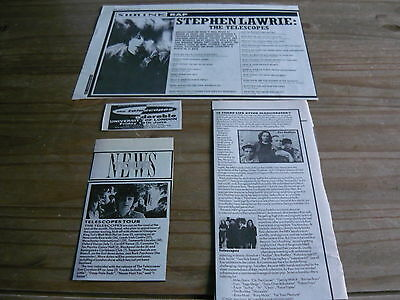 The Telescopes - Magazine Cuttings Collection (Ref S4)