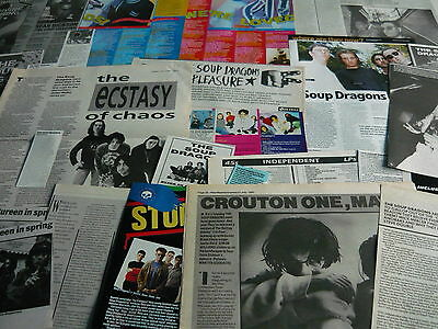 The Soup Dragons - Magazine Cuttings Collection (Ref T20)