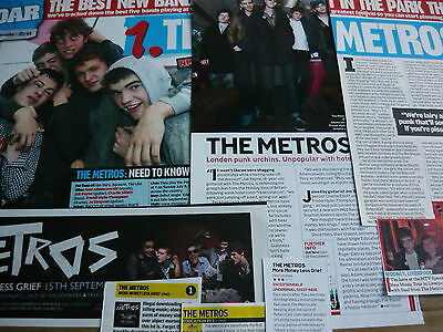 The Metros - Magazine Cuttings Collection (Ref Z7)