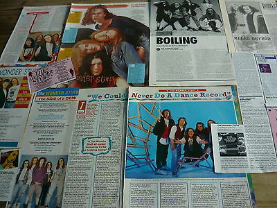 The Wonder Stuff - Magazine Cuttings Collection (Ref Sc1)