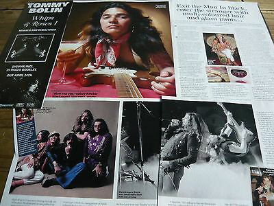 Tommy Bolin (Deep Purple) - Magazine Cuttings Collection (Ref X1A)