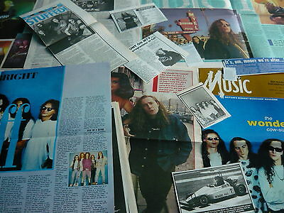 The Wonder Stuff - Magazine Cuttings Collection (Ref S12)