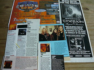 Therion - Magazine Cuttings Collection (Ref T20)