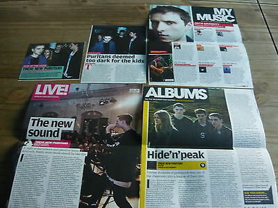 These New Puritans - Magazine Cuttings Collection (Ref S1)