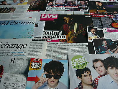 Vampire Weekend - Magazine Cuttings Collection (Ref Xb)